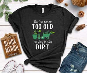 dirt, play, and t-shirt image