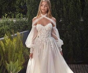 beautiful, photo, and wedding dress image