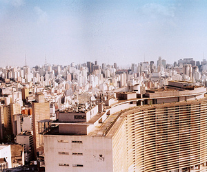 sky, city, and sao paulo image