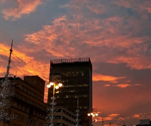 beautiful sky, pink, and zagreb image