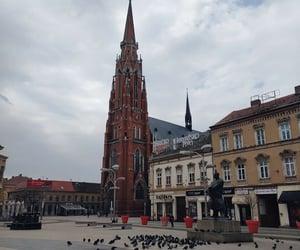 cathedral, osijek, and Croatia image