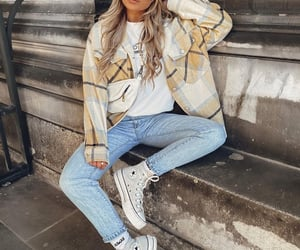 fashion, fashionable, and sneakers image