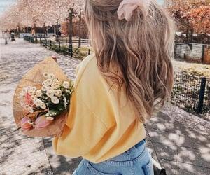 fashion, romantic, and woman girl image