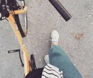 bicycle, bike, and village image