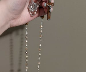 beads, Catholic, and katholizismus image
