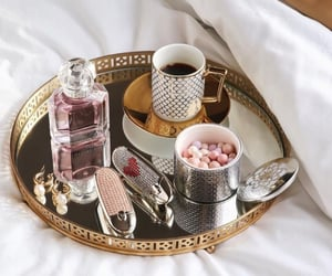 aesthetic, coffee, and cosmetics image