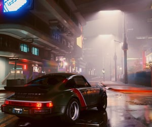 car, city, and concept art image