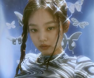 jennie, aesthetic, and icon image