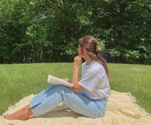 summer, picnic, and aesthetic image