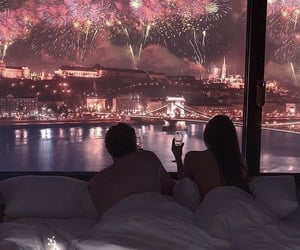 budapest, firework, and new years image