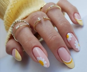 aesthetic, fashion, and nails image