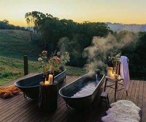 bath and nature image