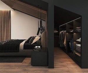 bedroom, bedroom decor, and closet image