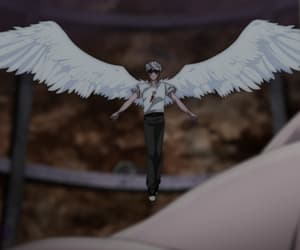 angel, villain, and wings image
