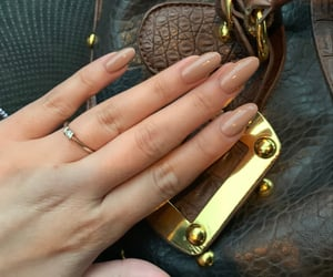 aesthetic, earth tone, and nails image