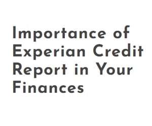 credit score, experian credit score, and experian credit report image