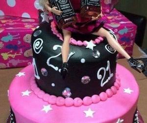 alcohol, booze, and cake image
