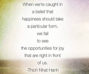 happiness, Thich Nhat Hanh, and opportunities image