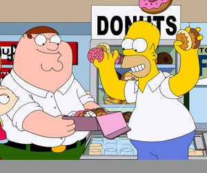 family guy, griffin, and the simpsons image