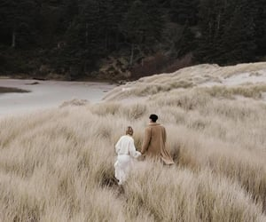 couple, nature, and aesthetic image