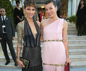 Milla Jovovich and ruby rose image