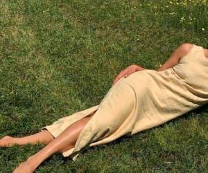 aesthetic, dress, and grass image