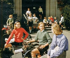 aesthetics, bike, and boarding image