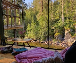 awesome, view, and cabin image
