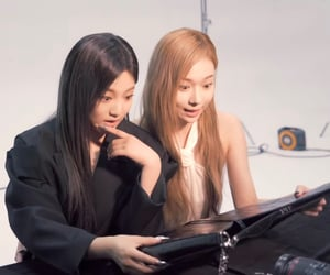 lq, kim minjeong, and ning yizhuo image