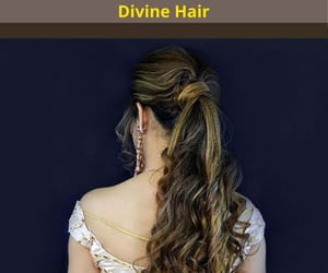 ponytail extensions and hair extension image