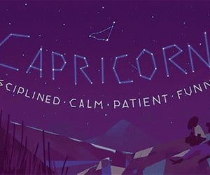 calm, capricorn, and funny image