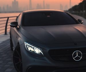 boy, girl, and mercedes image