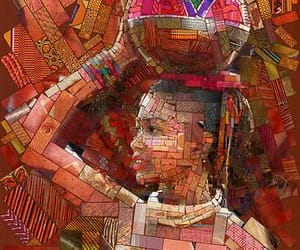 african inspired art image