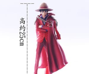 action figure, one piece, and luffy image