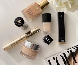 chanel, makeup, and style image
