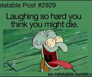 laugh, funny, and die image