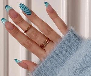 blue, fashion, and fashionable image