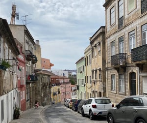 bridge, lisbon, and street image