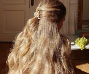 beauty, hair, and sun image
