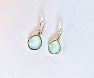 etsy, silver earrings, and dangle earrings image