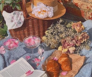 book, bread, and quiet image