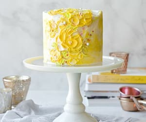 buttercream, cake, and food image