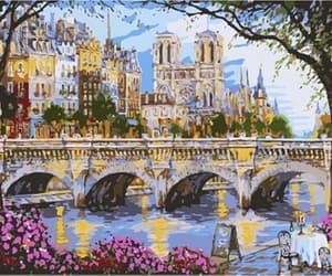 art and paint by numbers image