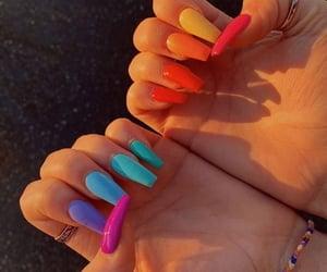 female, nailart, and nails inspiration image