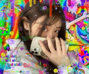 aesthetic, asian, and colourful image