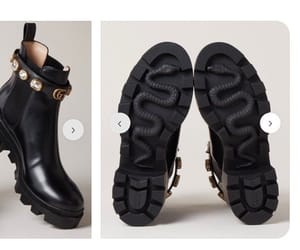 gucci, snake boots, and gucci snake boots image