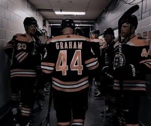 captain, g, and hockey image