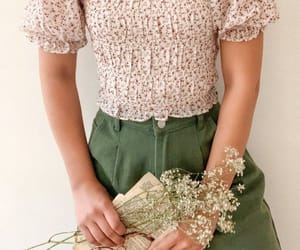 fashion, cottagecore, and summer outfits image