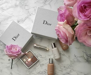 aesthetics, dior, and flowers image