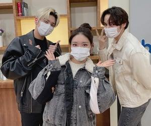 ioi, yeonjun, and kim chungha image